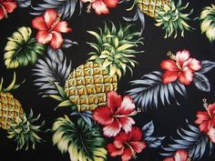 tropical+fabrics | Pictured on the left is the completed fabric. So there you have it, an ...