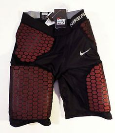 NWT WOMENS Size M (8-10) NIKE Pro Competition Foam Padded Compression Shorts