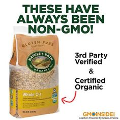 While we await non-GMO verification from a third party for Cheerios we recommend Nature's Path Organic Foods. Learn more: http://gmoinside.org/victory-consumers-general-mills-announces-original-cheerios-now-non-gmo