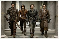 The Musketeers is a fun show on Sunday nights at 9 p.m. on BBCA. It plays a little fast and loose with history, but VERY entertaining! http://www.bbcamerica.com/musketeers/