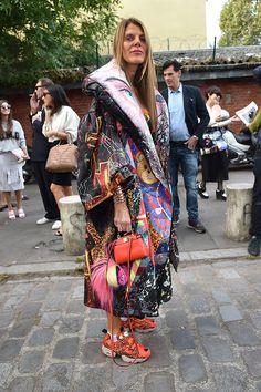#ItBag2015 Spotting: Fendi's Micro Peekaboo on Anna Dello Russo – Vogue