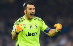 Download wallpapers Gianluigi Buffon, football, Juventus, goalkeeper, Italy, Serie A, Gigi Buffon