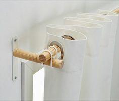 IKEAのシンプル&ナチュラルなカーテンロッド「SANNOLIKT / サンオーリクト」が使える♪ | folk