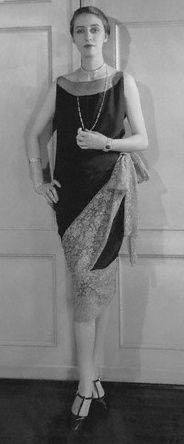 1927, Callot Souers. 1920's fashion needs to make a bigger comeback, some of their silhouettes were beautiful!