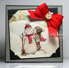 MIX96 - Snow Kiss by dini - Cards and Paper Crafts at Splitcoaststampers