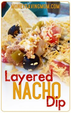 """This is a fantastic recipe to make for a New Year's party! It's great to serve as an appetizer, a """"finger food,"""" or as part of a Mexican meal ANY time of the year, but I make it often for gatherings around the holidays. People always appreciate something that's not sweet, for a change!"""