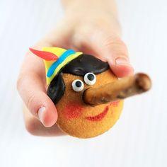 Pinokkio traktatie - cute!!