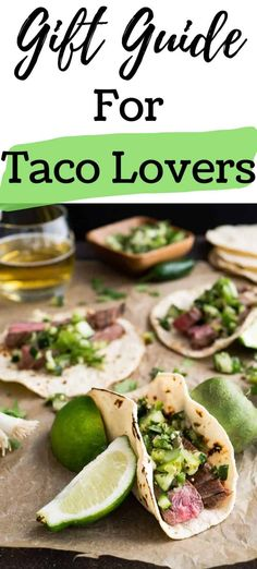 Looking for a gift for a big Taco Tuesday fan? This gift guide is sure to satisfy the taco lover in your life!