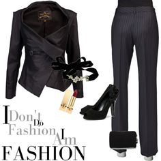 """Gangster style""  by terresekopp on Polyvore"