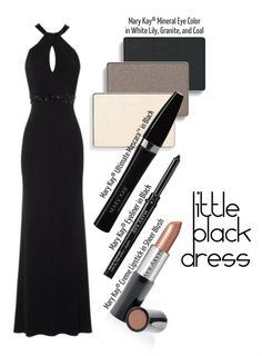 Complement the mystery of a Little Black Dress with a smoky eye and sheer lip! Try Mary Kay® Mineral Eye Color in White Little, Granite, and Coal and Mary Kay® Creme Lipstick in Sheer Blush to complete the look.