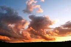 Stunning sunset by artist Pam Siderewicz   BVAA