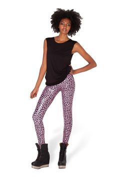 Pink Panther Leggings - LIMITED by Black Milk Clothing ($80 AUD)