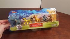Disney Junior The Lion Guard Collectible 5 Figure Set Cake Toppers Kids Play #Disney
