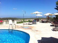 Piscina del hotel Es Racó de Randa  #unaarjoneraenmallorca