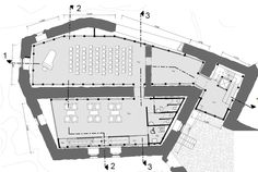 Floorplan of northern palace