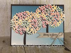 Thoughtful Branches Limited Time bundle from Stampin' Up! Versatility is it's middle name!