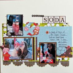 3 photo layout - easy to scraplift