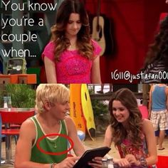 They have the same necklaces! The exact same thing happened with Leo Howard and Olivia holt!