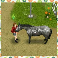 ♢The SimsFreePlay.                                     My sim tending to one of our only horses at the time! Feeding is just an action to keep your horse happy this is not part of any skill increase. #VaultingHobby #SimsFreePlay#Countrygirl