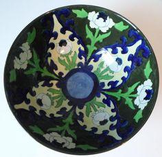 Frederick Rhead Bursley Ware Bowl – Alternative 451 Pattern Flower Designs, Art Nouveau, Alternative, Pottery, Ceramics, Wall Art, Antiques, Wood, Inspiration