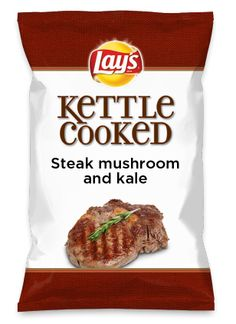 Wouldn't Steak mushroom and kale be yummy as a chip? Lay's Do Us A Flavor is back, and the search is on for the yummiest flavor idea. Create a flavor, choose a chip and you could win $1 million! https://www.dousaflavor.com See Rules.