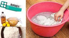 Mutfağınızda 4  MUCİZE ürünle çamaşırlarınızı yıkayın ve sonuca şaşırın!