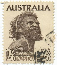 Illustration about AUSTRALIA - CIRCA A postage stamp printed in the Australia showing an Aborigine Man, circa Illustration of country, mail, continent - 16101770 Aboriginal History, Aboriginal Culture, Aboriginal Art, Old Stamps, Rare Stamps, Vintage Stamps, Postage Stamp Design, Stamp Printing, Tampons
