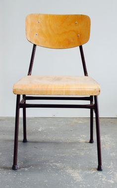 School stoel industriel