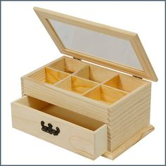 DIY 360 degree rotation waterproof Jewelry Box Retro Storage Box