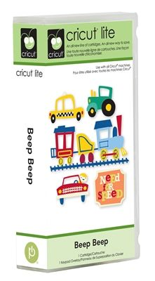 Will need this if baby is a boy! :)    Cricut® Lite Cartridge — Beep Beep - Cricut Shop