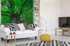 Fototapeta stromu - pohľad zdola | DIMEX Outdoor Sofa, Outdoor Furniture, Outdoor Decor, Wall Murals, Couch, Inspiration, Home Decor, Wallpaper Murals, Biblical Inspiration
