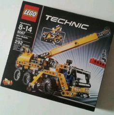 New Lego Technic Mini Mobile Crane 8067 SEALED Set 673419145183 | eBay