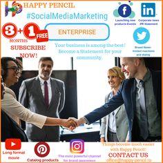 HAPPY PENCIL - Wide range of social media packages SUBSCRIBE NOW! office@happy-pencil.ro #socialmedia #socialmediamarketing #marketing #adverts #services #enterprise #branding #discount #content #digitalmarketing #business #statement #top #best #facebook #instagram #twitter #youtube #pinterest #linkedin #ad #advertisement #offer #community #makemoney #happypencil Social Media Marketing, Digital Marketing, Social Media Packages, How To Make Money, How To Become, Advertising, Ads, Facebook Instagram, Product Launch