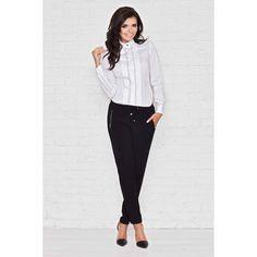 Infinite You Cotton Long Sleeved Shirt White Alba, Fashion Brands, Long Sleeve Shirts, Capri Pants, Cotton, Infinite, Fashion Design, Beauty, Tops