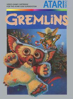 Gremlins Video Game Cartridge for the Atari 5200