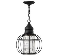 View the Hinkley Lighting 2252 1 Light Dark Sky Outdoor Lantern Pendant from the New Castle Collection at LightingDirect.com.