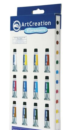 (c) Royal Talens ArtCreation Expressions Gouache Set. Starting at $8 on Tophatter.com!