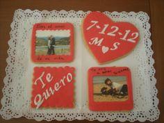 Galletas para celebrar un Aniversario!! Felicidades parejaaa!!