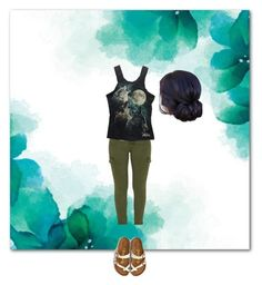 """""""Forest"""" by funsummer ❤ liked on Polyvore featuring Mother and American Eagle Outfitters"""