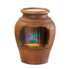 Light-up Grecian Urn Fountain. Very cool. check us out online - dabombjiggity.com
