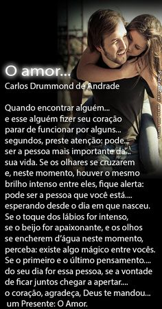 O amor. Sentences, I Love You, Texts, Love Quotes, Positivity, Messages, Thoughts, Motivation, Feelings