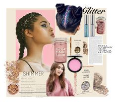 """shimmer"" by anehta on Polyvore featuring beauty, In Your Dreams, ASOS, Torrid, Major Moonshine, Urban Decay and MAC Cosmetics"