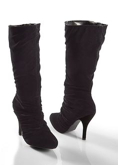 You've heard of the LBD, but have you heard of the LBB? AKA the little black boot? :) Start your collection now!