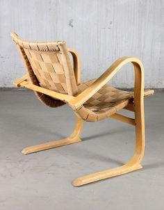 Armchair Tösen, Gustaf Axel Berg, Designed in 1942. #design
