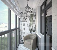 Идеи для маленького балкона. Обсуждение на LiveInternet - Российский Сервис Онлайн-Дневников