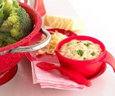 Salmon, Broccoli & Cheese Sauce | Annabel Karmel