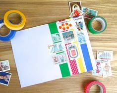 Omiyage Blogs: Send Pretty Mail #2 - Canadiana - one more reason to love washi tape!
