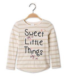 Suéter manga larga Niña Ver todo en beis –  al mejor precio en C&A