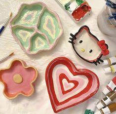 Ceramic Pottery, Pottery Art, Ceramic Art, Keramik Design, Clay Art Projects, Ideias Diy, Cute Clay, Clay Design, Diy Clay
