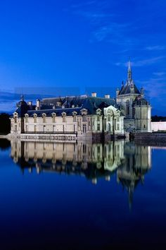 The Château de Chantilly in France.